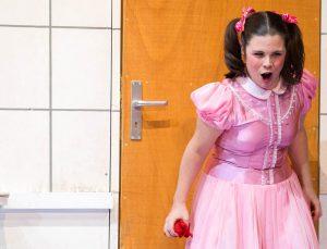 AGRIPPINA (G.F. Haendel), Rolle: Poppea, Stadttheater Gießen - Foto: Rolf K. Wegst
