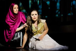 LA CONQUISTA DI GRANATA (E. Arrieta), Rolle: Zulema, Stadttheater Gießen - Foto: Rolf Wegst